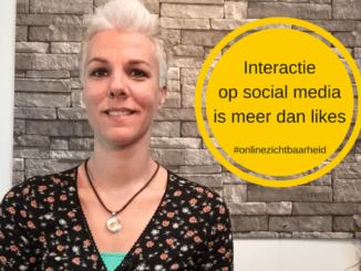 Interactie op social media is meer dan likes