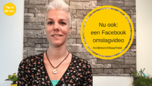 Een Facebook omslagvideo