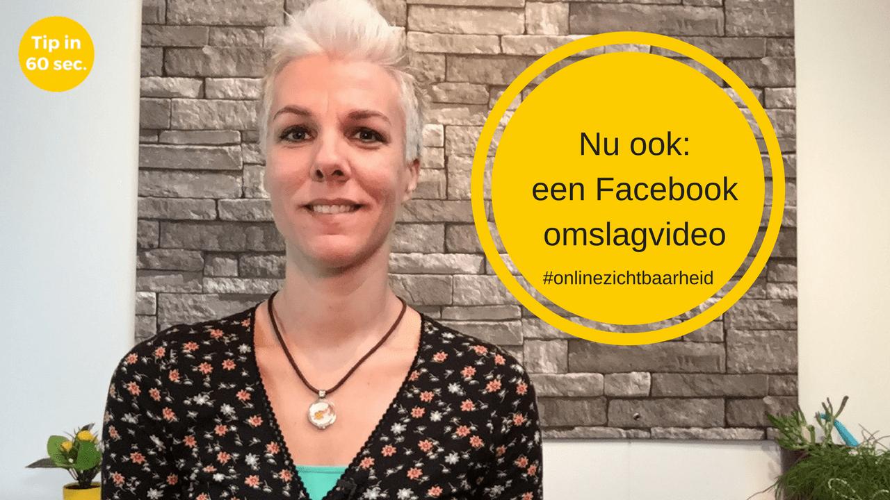 Een Facebook omslagvideo