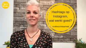 Hashtags op Instagram – wat werkt goed?