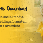 Gratis download met alle formaten van social media