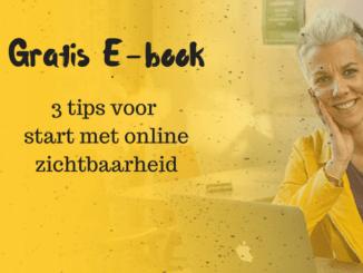 Start met online zichtbaarheid
