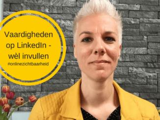 LinkedIn vaardigheden, wel invullen